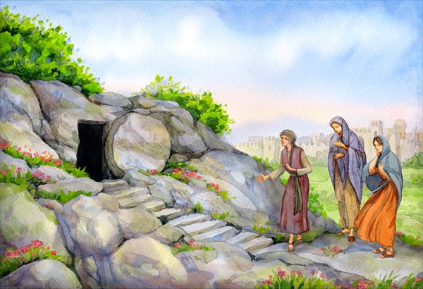 empty tomb, sepulcher, morning, heaven, sacred holiday, easter, passover, resurrection timeline, jesus rises from the dead, resurrection of yeshua, when did jesus rise from the dead, when did yeshua rise from the dead